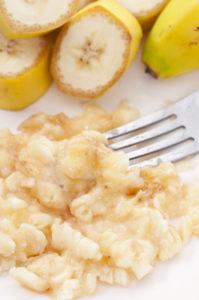 Healthy Snack Recipe - Banana Flapjack